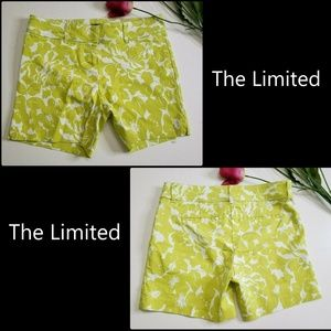 The Limited Women's Flat Front Short Shorts Size 6